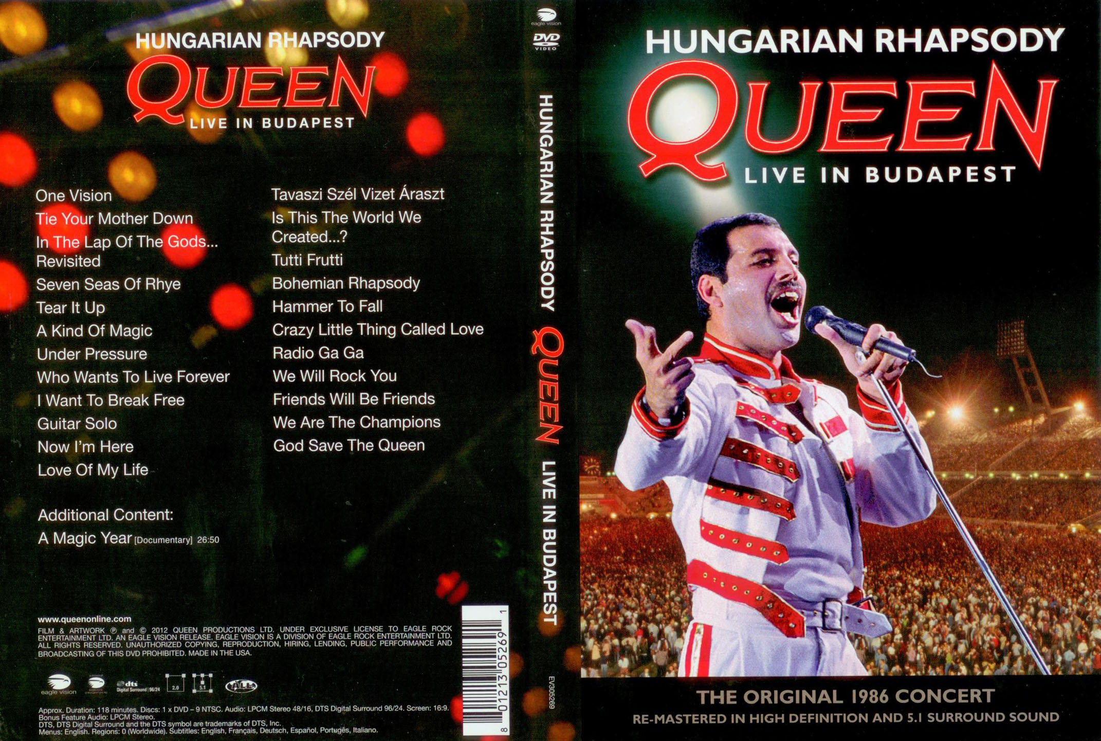 Hungarian Rhapsody – Queen Live In Budapest
